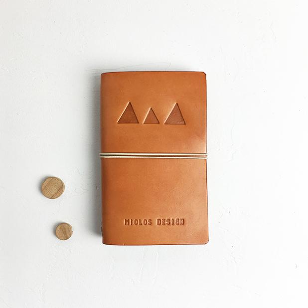 Cuaderno Midori Tostado