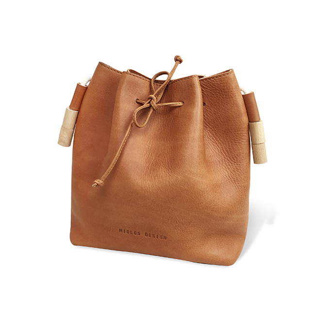 Tanned Bucket Bag